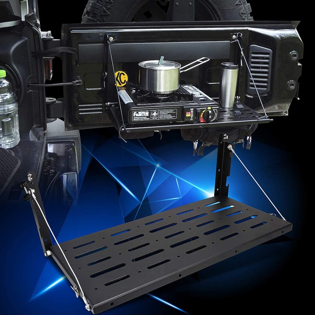 Jeep Wrangler Tailgate Table Jeep accessories Jeep wrangler accessories