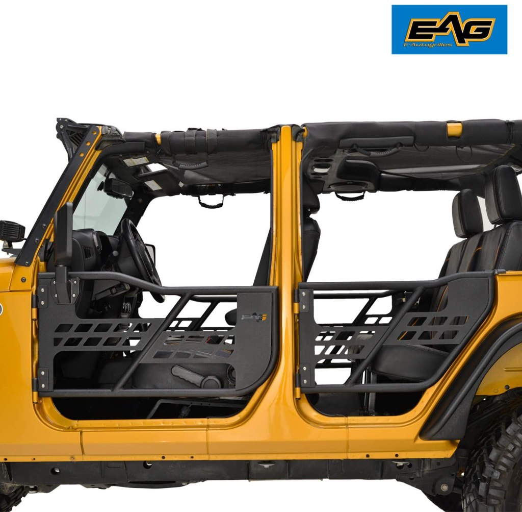 Jeep Wrangler Safari Tubular Doors