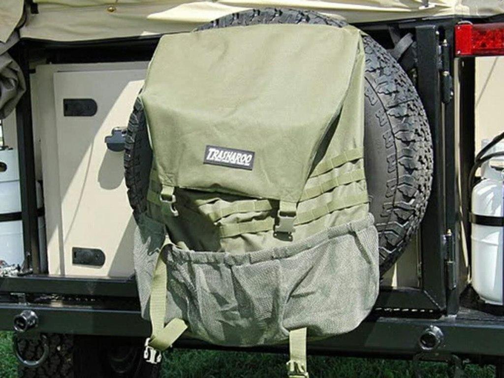 Jeep accessories Jeep tire trash bag #jeep #jeepacessories #jeeplife