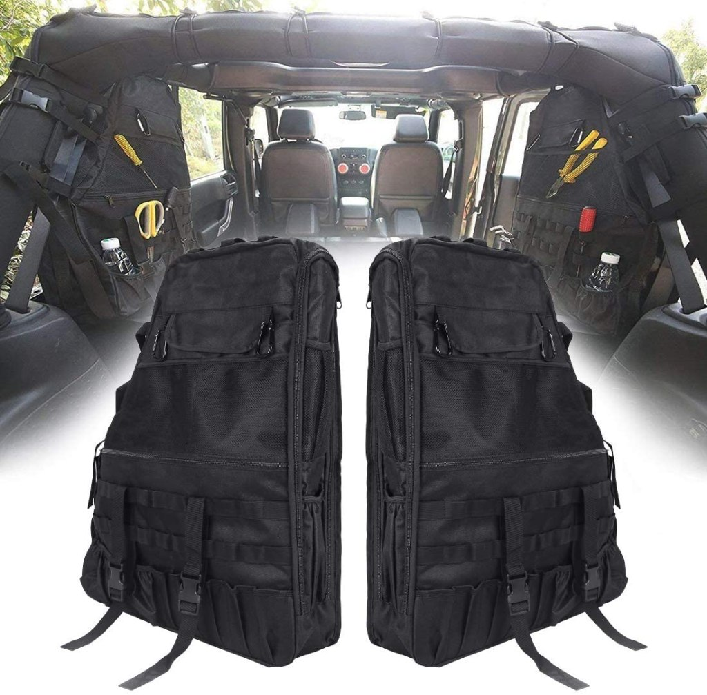 Jeep Roll Bar Storage Bags
