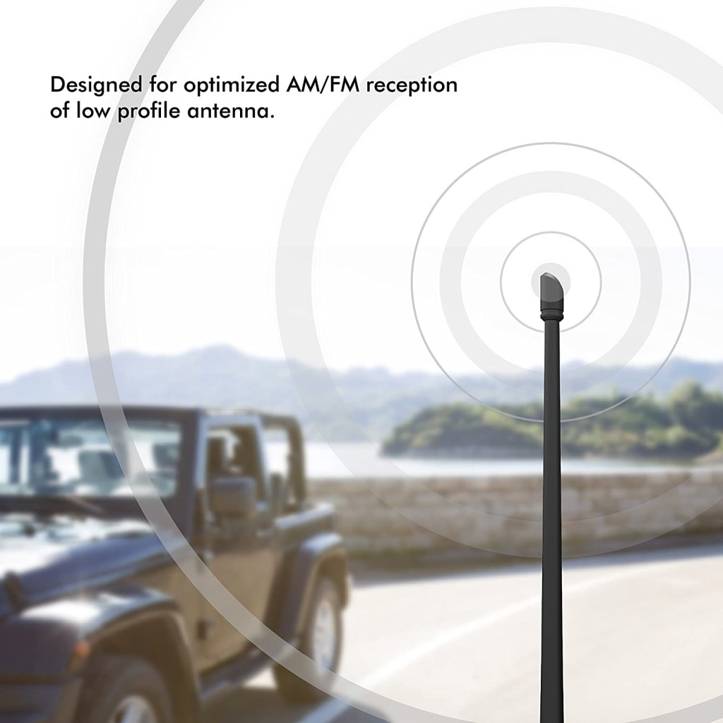 Rydonair Antenna Compatible with Jeep Wrangler