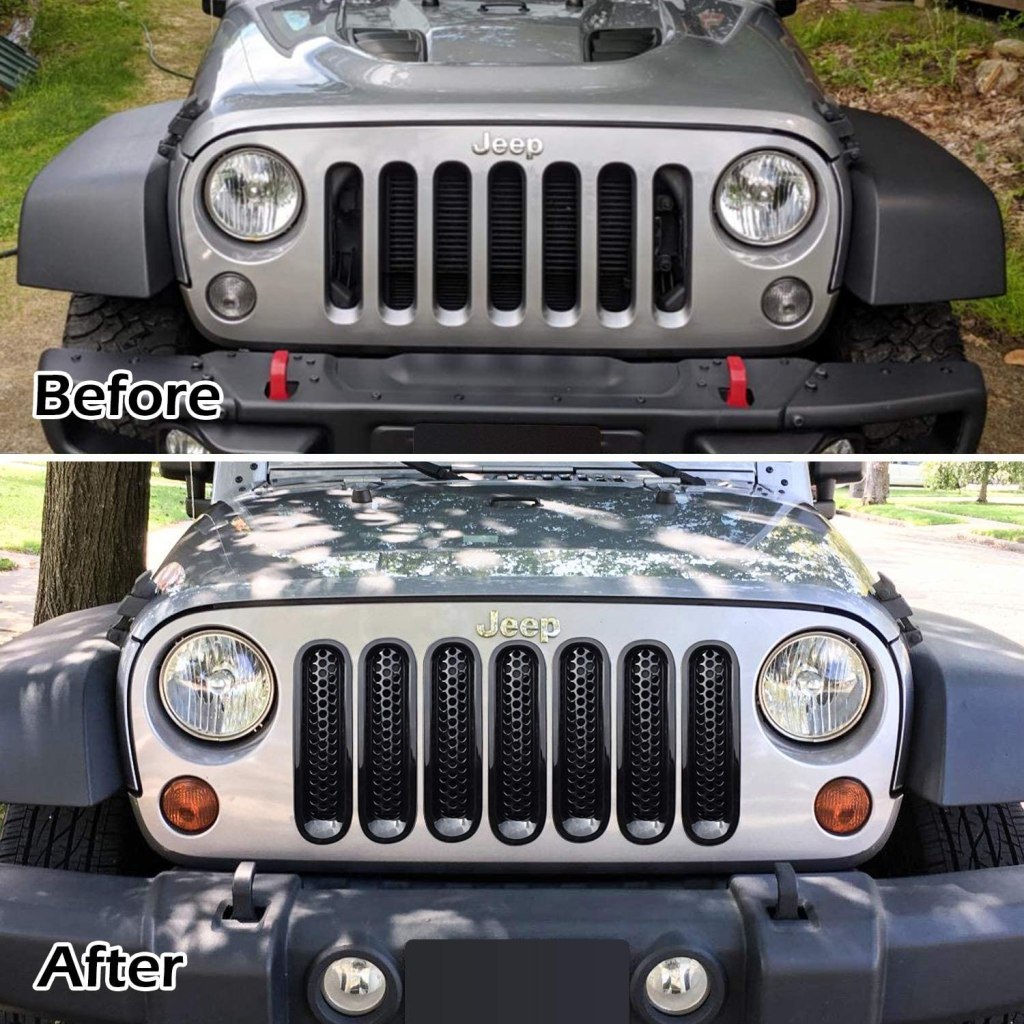 Jeep grill accessories #jeep #jeepaccessories
